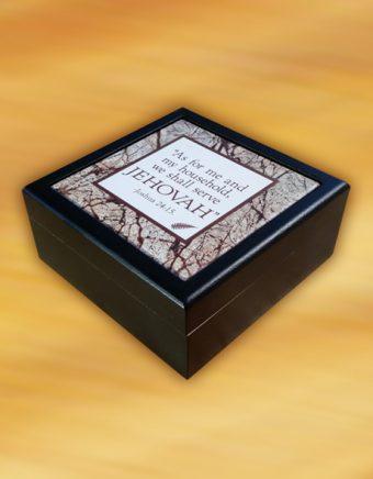 Cassone Basic Black Valet Box exterio