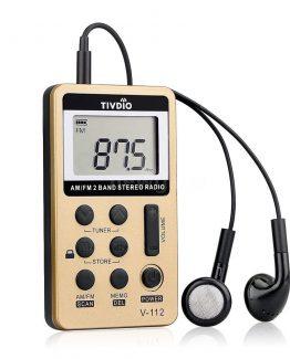 Mini AM/FM digital radios