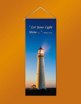 Light Hanging Banner