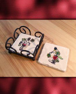 Viridis2 Collection Vino Coaster Set
